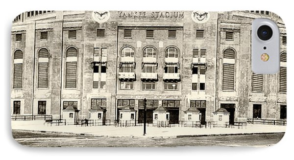 Yankee Stadium IPhone 7 Case by Bill Cannon