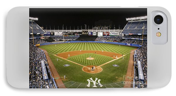Yankee Stadium IPhone Case by Chuck Spang