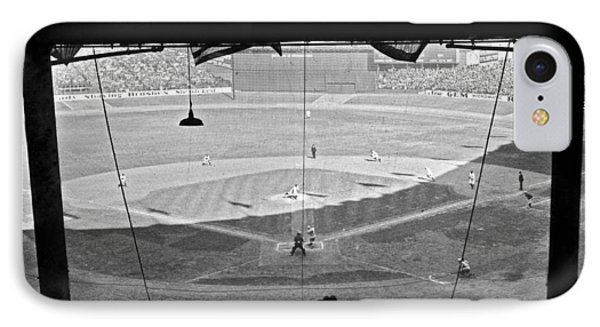 Yankee Stadium Grandstand View IPhone Case by Underwood Archives