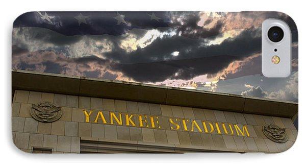 Yankee Stadium Ny Phone Case by Chris Thomas