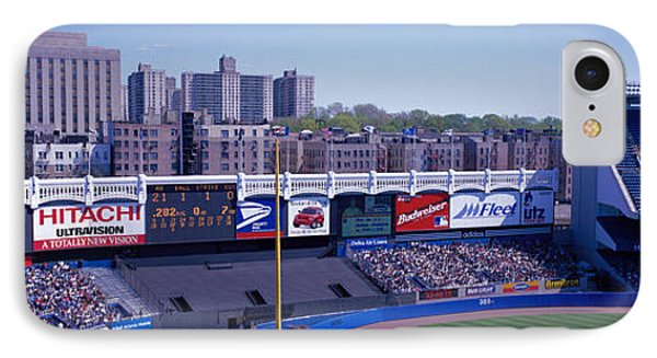 Yankee Stadium Ny Usa IPhone Case by Panoramic Images