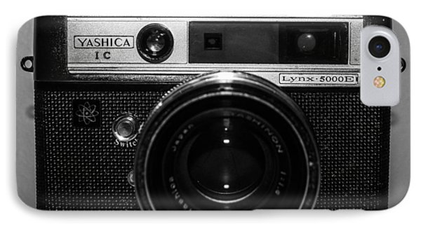 Yashica 1c IPhone Case by Steven  Taylor