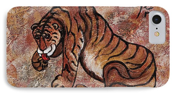 Year Of The Tiger IPhone Case by Darice Machel McGuire