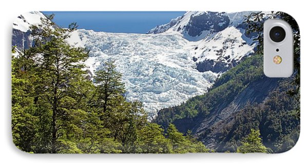 Yelcho Chico Glacier IPhone Case by Philippe Psaila