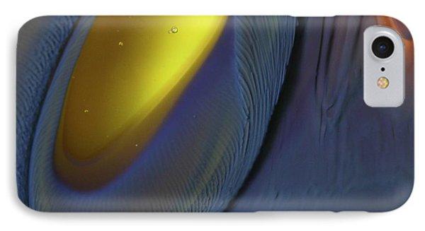 Yellow Depths Phone Case by Kimberly Lyon