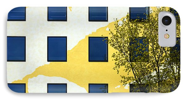 Yellow Facade In Berlin Phone Case by RicardMN Photography