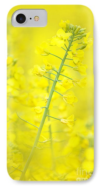 Yellow Makes Me Happy Phone Case by Angela Doelling AD DESIGN Photo and PhotoArt