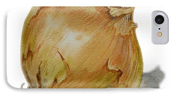 Yellow Onion IPhone Case by Irina Sztukowski