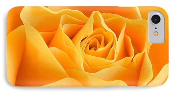 Yellow Rose Phone Case by Tilen Hrovatic