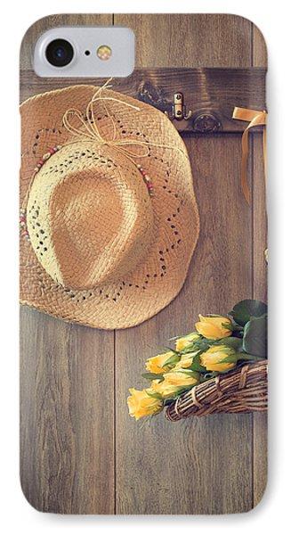 Yellow Roses IPhone Case by Amanda Elwell