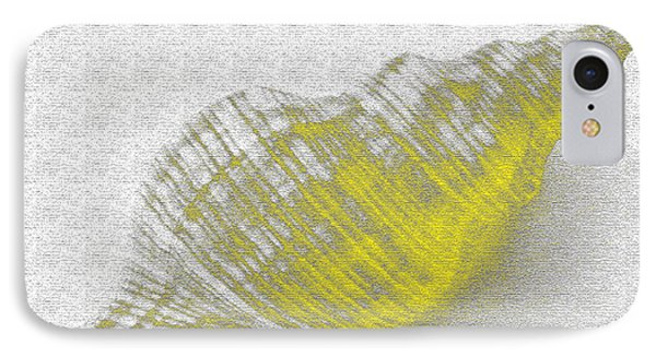 Yellow Seashell Phone Case by Carol Lynch