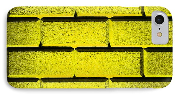 Yellow Wall Phone Case by Semmick Photo