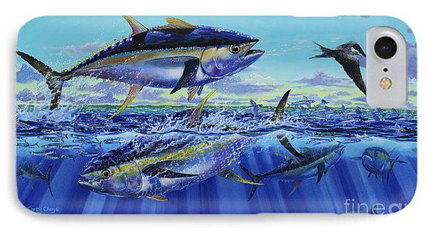 Yellowfin Bust Off0083 IPhone Case by Carey Chen