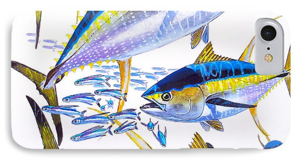 Yellowfin Run Phone Case by Carey Chen