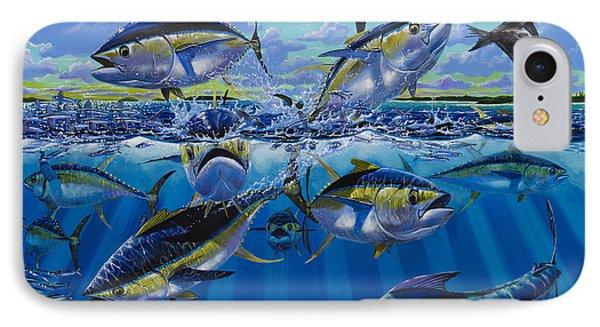 Yellowfin Run Off002 Phone Case by Carey Chen