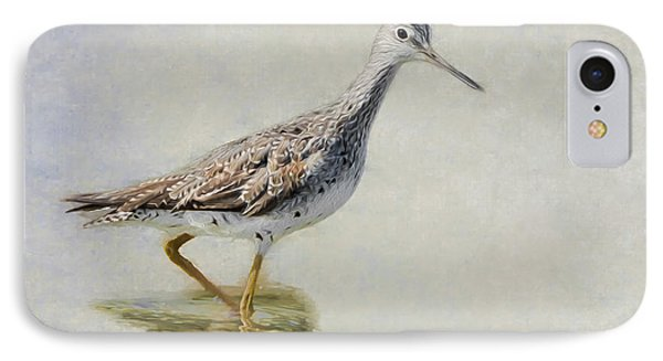 Yellowlegs IPhone Case by Bill Wakeley