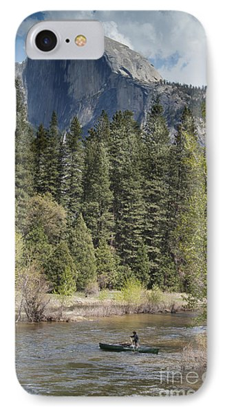 Yosemite National Park. Half Dome IPhone Case by Juli Scalzi