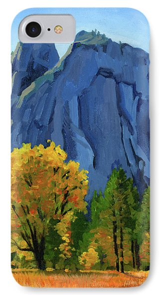 Yosemite Oaks Phone Case by Alice Leggett