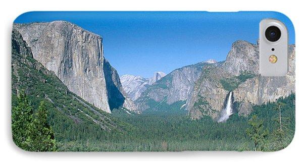 Yosemite Valley Phone Case by David Davis