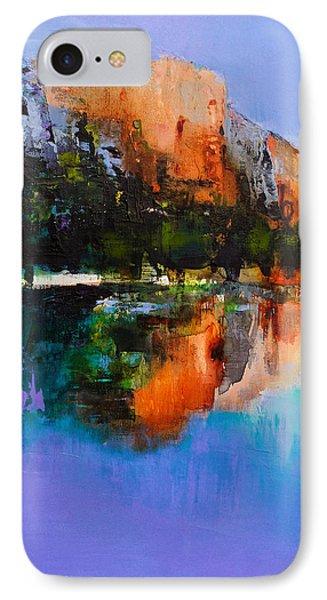 Yosemite Valley IPhone Case by Elise Palmigiani