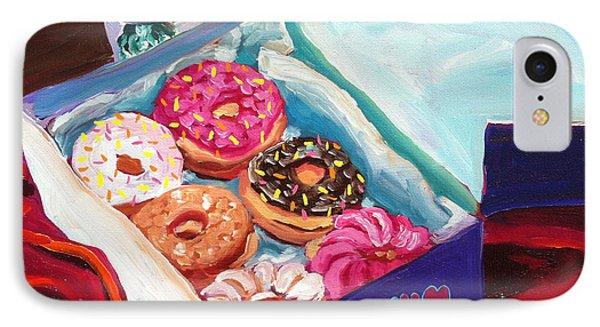 Yum Yum Donuts Phone Case by Sean Boyce