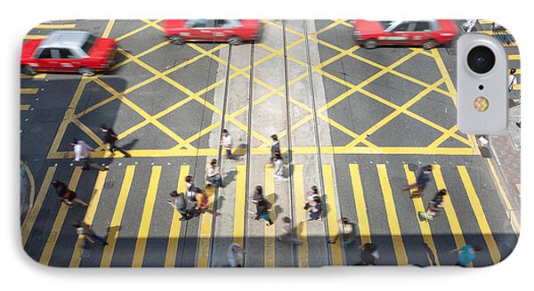 Zebra Crossing - Hong Kong IPhone Case by Matteo Colombo