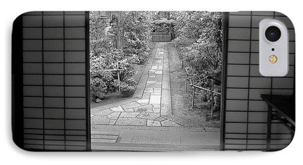 Zen Garden Walkway Phone Case by Daniel Hagerman