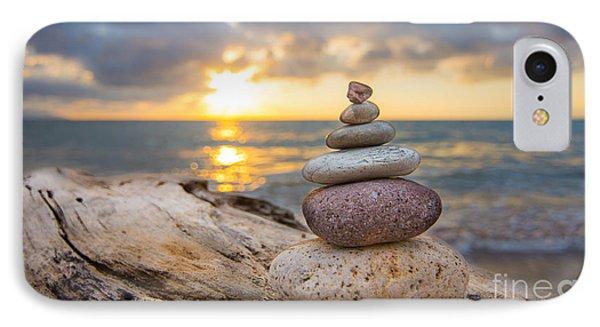 Zen Stones IPhone Case by Aged Pixel