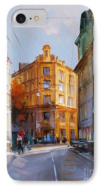 Zlatoustinskiy Alley.  IPhone Case by Alexey Shalaev