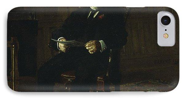 Robert M. Lindsay IPhone Case by Thomas Cowperthwait Eakins
