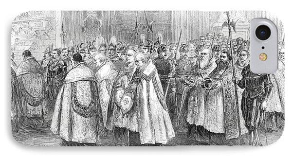 1st Vatican Council, 1869 Phone Case by Granger