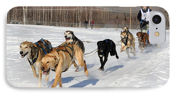 2010 Limited North American Sled Dog Race Phone Case by Gary Whitton