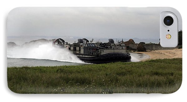 A Landing Craft Air Cushion Comes IPhone Case by Stocktrek Images