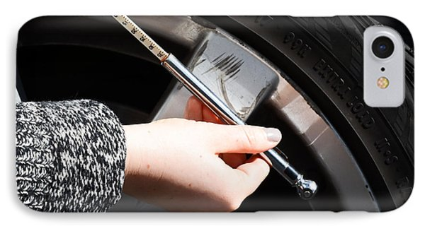 Air Pressure Gauge Phone Case by Photo Researchers