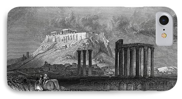 Athens: Olympian Zeus Phone Case by Granger