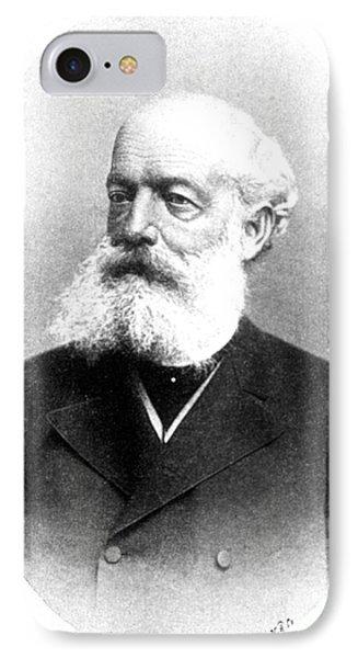 August Kekulé, German Organic Chemist Phone Case by Science Source
