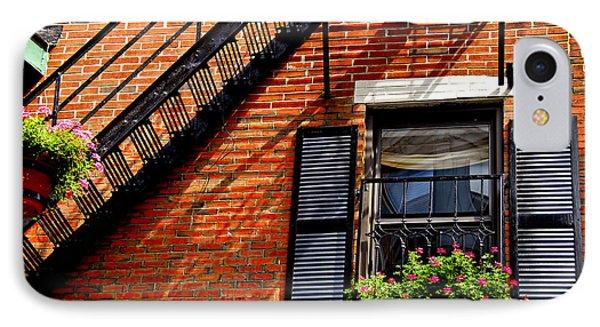 Boston House Fragment Phone Case by Elena Elisseeva