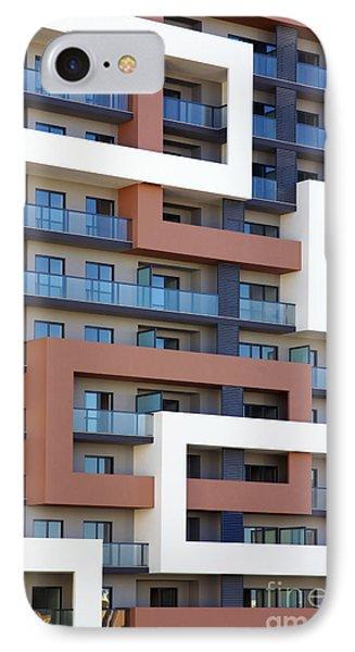 Building Facade IPhone Case by Carlos Caetano