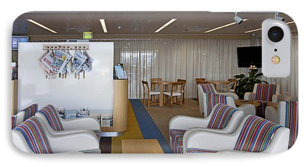 Business Lounge At An Airport Phone Case by Jaak Nilson