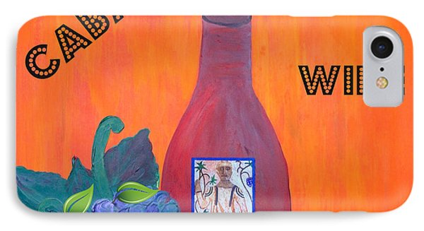 Cabaret Wine Phone Case by Cynthia Amaral