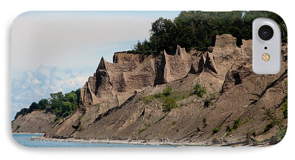 Chimney Bluffs On Lake Ontario Phone Case by Rose Santuci-Sofranko