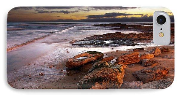 Coastline At Twilight Phone Case by Carlos Caetano