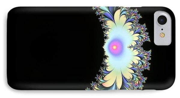 Computer-generated Julia Fractal IPhone Case by Mehau Kulyk