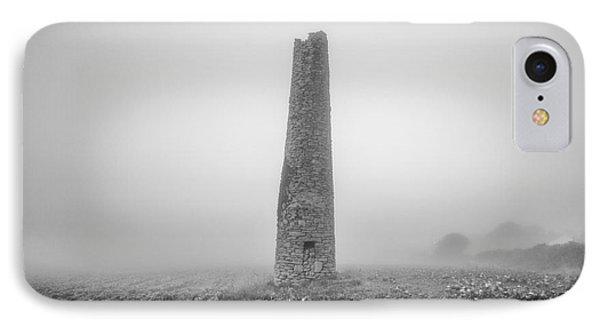 Cornish Mine Chimney Phone Case by John Farnan