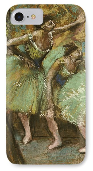 Dancers Phone Case by Edgar Degas