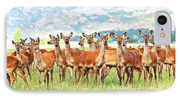 Deers Phone Case by MotHaiBaPhoto Prints