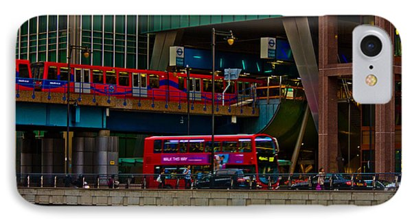 Docklands London Phone Case by Dawn OConnor