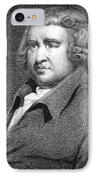 Erasmus Darwin, English Polymath Phone Case by Science Source