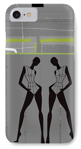 Fashion Dance IPhone Case by Naxart Studio