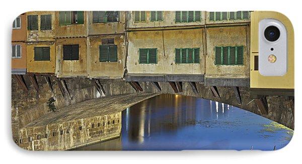 Florence - Ponte Vecchio Phone Case by Joana Kruse